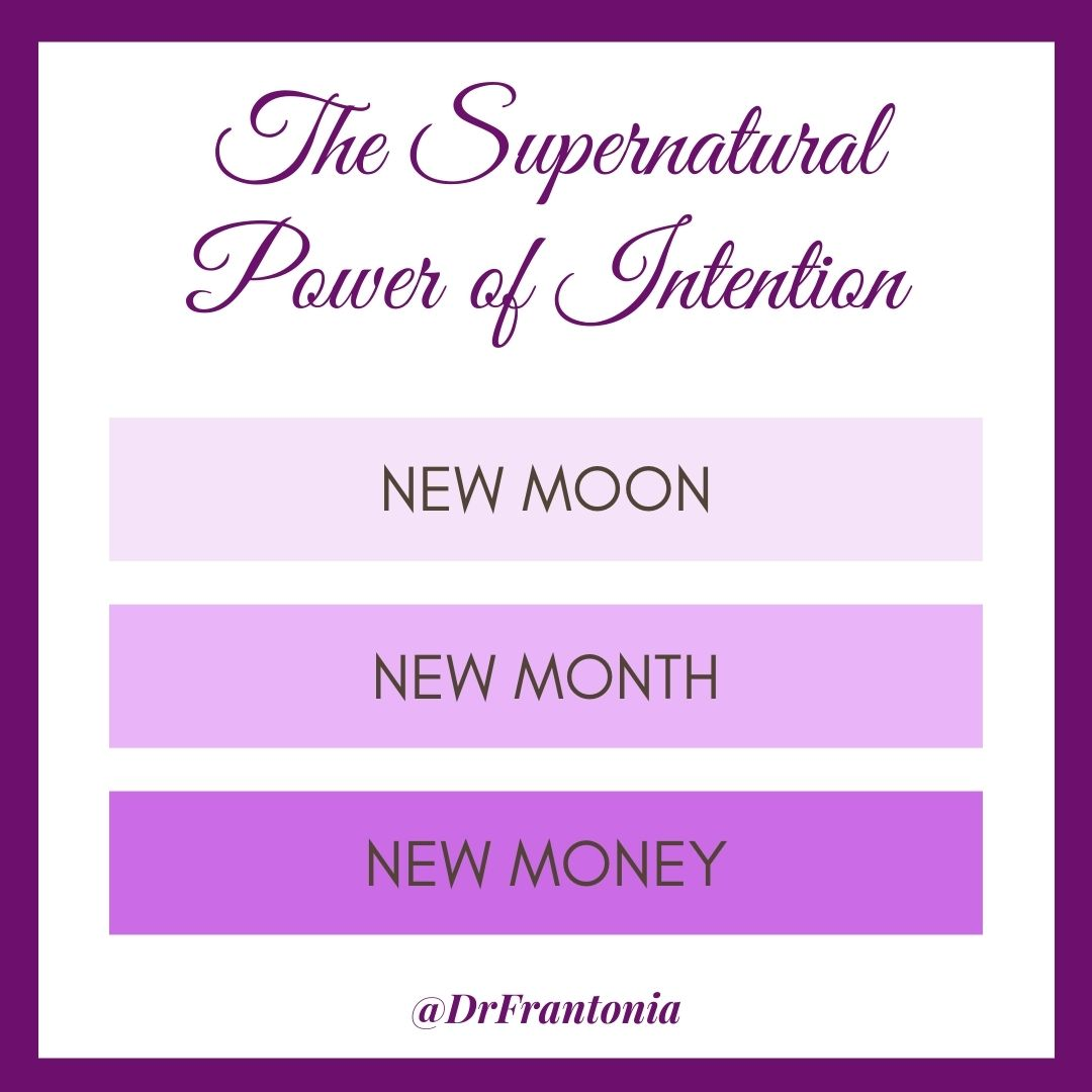 It's a New Month and a New Moon, So Let's Set Some Intentions for Calling in New Money…